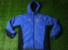 ITALY NATIONAL TEAM 2001/2002 RARE FOOTBALL WARM JACKET TRAINING KAPPA ORIGINAL