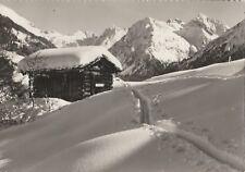 AK Klosters (Graubünden) - Blick gegen Sivretta 1963