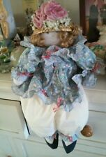 PLUSH DOLL SHELF-SITTER Auntie Blossum Gifts by House of Lloyd Country Decor