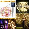 100/200 LED Solar Fairy Lights String Lamps Party Wedding Decor Garden Outdoor
