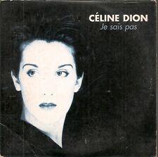 CD SINGLE 2 TITRES--CELINE DION--JE SAIS PAS--1995