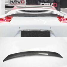 Carbon Fiber Rear Trunk Spoiler Fit For Porsche 911 Carrera 991 2012- 2015
