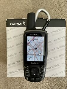 Garmin GPSMAP 64st, TOPO U.S. 100K - Factory Refurbished