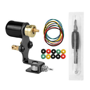 Pro Rotary Tattoo Machine Gun Kit Liner Shader Motor with Disposable Grip