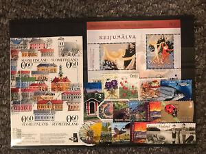 FINLAND STAMPS JOB  LOT14