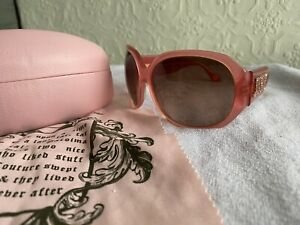 Juicy Couture Sunglasses Pink Authentic Great Condition