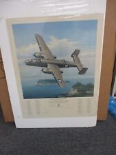 William S. Phillips Rare Print - Evasive Action Over Sagami Bay, Signed Numbered