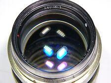 Jupiter-9 WHITE 2/85mm #6010517 Portrait lens/Rangefinder RF Contax/Kiev mount
