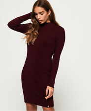 Superdry Womens Liana Ribbed Knit Dress