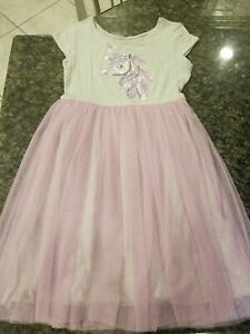 JUSTICE Unicorn Dress Size 14/16