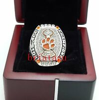2016 Clemson Tigers ACC Football National Championship Ring Solid New Year Gift