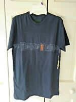 Men's Quiksilver sz S. blue surfboard graphic s/s T-shirt-NWT-Free Shipping