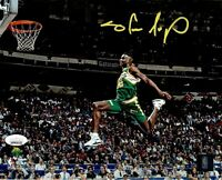 Shawn Kemp autographed signed 8x10 photo NBA Seattle Supersonics JSA COA