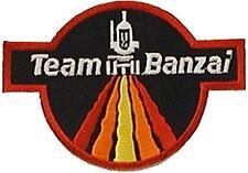 Buckaroo Banzai - Team Banzai Logo -  gestickter Aufnäher  -Patch für Uniform