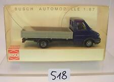 Busch 1/87 Nr. 47970 Iveco Daily Pritsche blau/grau OVP #518