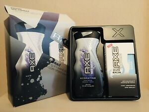 Axe Skin Contact Gift Set (Shower Gel 250ml & Afteshave Balm 100ml) Rare New