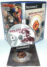 RED FACTION II 2 GUERRA - Playstation 2 Ps2 Play Station Gioco Game