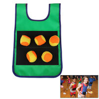 Props Vest With Sticky Ball Throwing Outdoor Fun Sports  oq