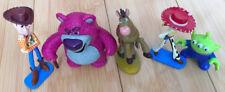 Disney Toy Story Small Woody, Lotso, Jessie, Bullseye Figures bundle