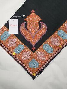 Yemeni Arab Shawl Embroidery Shemagh headscarf muslim mens sufi floral scarf