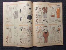 1968 July Caricatour Magazine Vg+ 4.5 Political Paper Dolls Reagan Kennedy