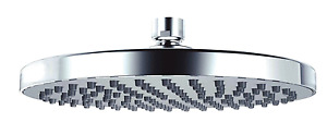 Pura KI081 Design 200mm Round shower head in Chrome - RRP £46.00 Save 20%