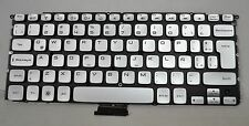 Genuine Dell XPS/Adamo Silver Latin Spanish Keyboard 0N0G4M N0G4M