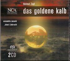 """2 SACD Helmut Zapf """"Das Goldene Kalb - Ballett"""" Neu/OVP Ensemble Mosaik - Hybrid"""