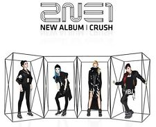 2NE1 [ CRUSH ] OFFICIAL POSTER - Poster in Tube