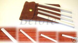 Spyderco Ceramic File Sharpener Set 4 Pcs w/ Pouch 400F