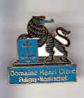 RARE PINS PIN'S .. ALCOOL VIN WINE LION CHATEAU CLERC PULIGNY MONTRACHET 21 ~BN