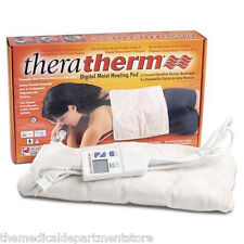 TheraTherm Digital Moist Heating Pad  14  x 14 Blanket