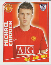 N°282 MICHAEL CARRICK MANCHESTER UNITED Premier League 2008-2009 TOPPS STICKER