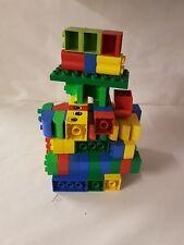 Lego / Duplo BUNDLE 1KG BRICKS  BLOCKS PARTS & PIECES VARIOUS COLOURS SIZES