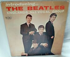 Original 1964 Introducing The Beatles VJ 1062 Brackets Colorband