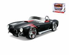 1:24 Maisto 1965 SHELBY COBRA 427 BLACK/ RED Diecast Metal Model Kit 43 Parts