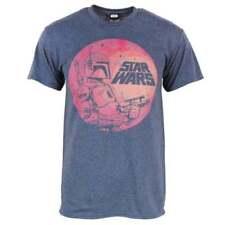 Camisetas de hombre azul sin marca color principal azul