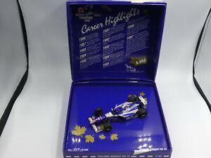 Minichamps 1:43 Jacques Villeneuve Williams FW19 World Champion F1 1997