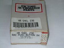 Carrier HR 54KL 236 Push Button Selector, 4 Position, New
