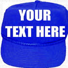 Custom Print Hat Company Business Personnal Family Text Trucker Skull Cap Fish