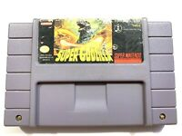 Super Godzilla SUPER NINTENDO SNES Game Tested + Working & Authentic!