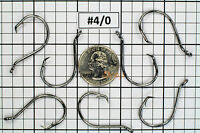 100 #4/0 Offset Octopus Circle Fishing Hooks 2X Strong Chemically Sharpened USA!
