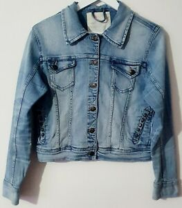 PAPAYA/Ladies/Women's Light Blue Denim Jacket - Size 18