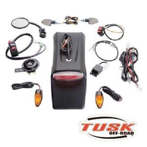 Tusk Enduro Dual Sport Lighting Kit Street Legal Yamaha Wr450F 2003-2020 450fx