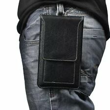 Black Holster Belt Clip Pouch Case for BLU R1 Plus / LG G6 / Google Pixel XL