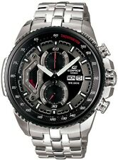 Casio Edifice Black Dial Chronograph Mens Watch EF-558D-1AVEF £195