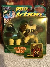 Vintage Starting Lineup PRO Action NFL Football Denver Broncos Neil Smith MOC