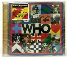 THE WHO - Who CD (2019) Album Pete Townshend Roger Daltrey * BRAND NEW SEALED *