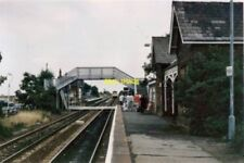 PHOTO  HABROUGH RAILWAY STATION LINCOLNSHIRE 1990