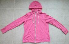 Danskin Now Women's Zip Up Hoodie ~ Pink, Size XL (16-18) ~ EUC